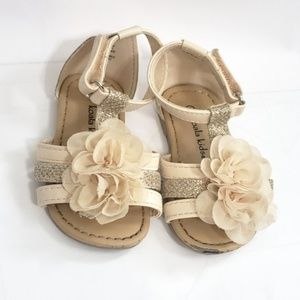 3/$15🌞Koala Kids Strappy Floral Sandals Size 4